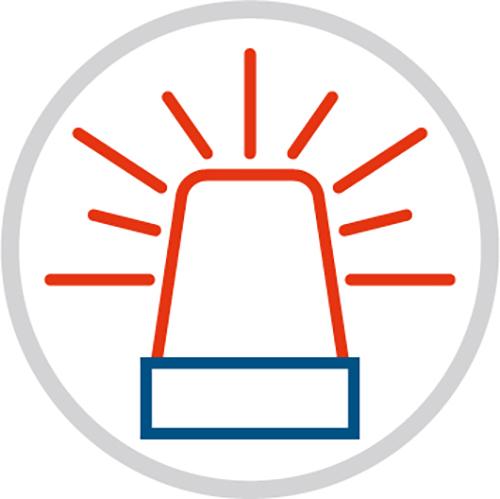 Grafik Einbruchmeldeanlage - Eine Initiative der Polizei - Rupprecht Alarmanlagen aus Hamm - Seit mehr als 35 Jahren auf elektronische Sicherheitssysteme spezialisiert.