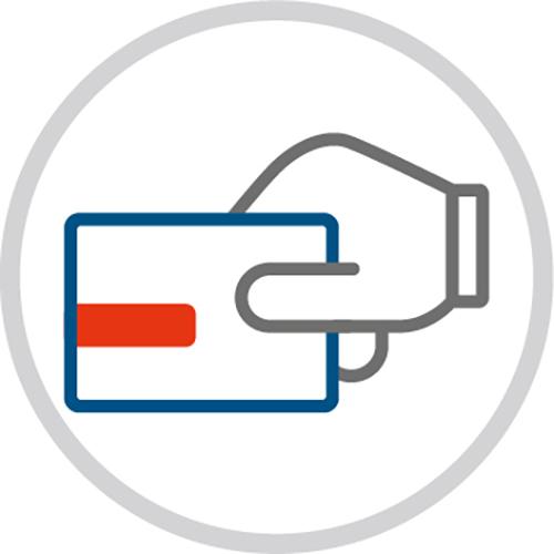 Grafik Zutrittskontrolle - Eine Initiative der Polizei - Rupprecht Alarmanlagen aus Hamm - Seit mehr als 35 Jahren auf elektronische Sicherheitssysteme spezialisiert.