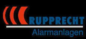 Logo in farbig - Rupprecht Alarmanlagen aus Hamm - Seit mehr als 35 Jahren auf elektronische Sicherheitssysteme spezialisiert.